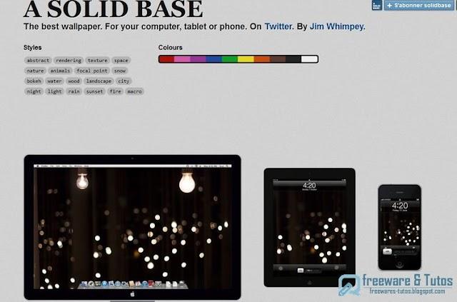 A Solid Base : une ressource de fonds d'écran pour ordinateurs, tablettes et smartphones