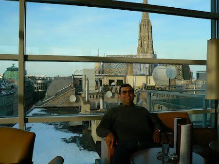 Imagini Austria: bar panoramic Viena