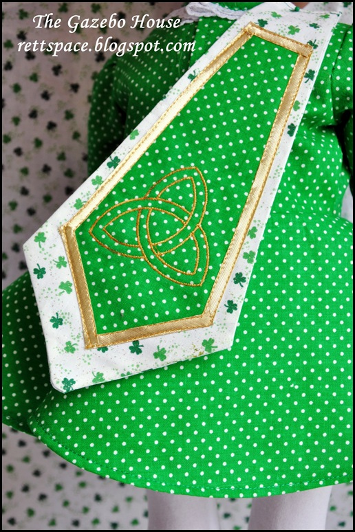 Irish Step-Dance Doll Dress 013