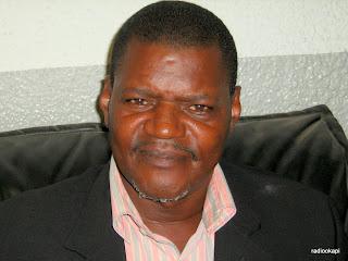 Marcelin Mandwakila à Kinshasa, avril 2010.