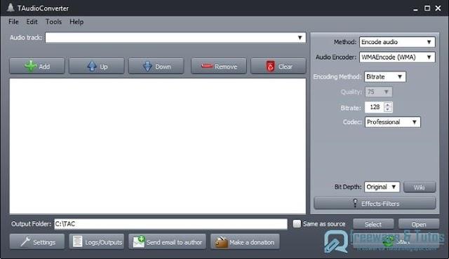 TAudioConverter : un logiciel pratique et portable pour convertir les fichiers audio (et plus)