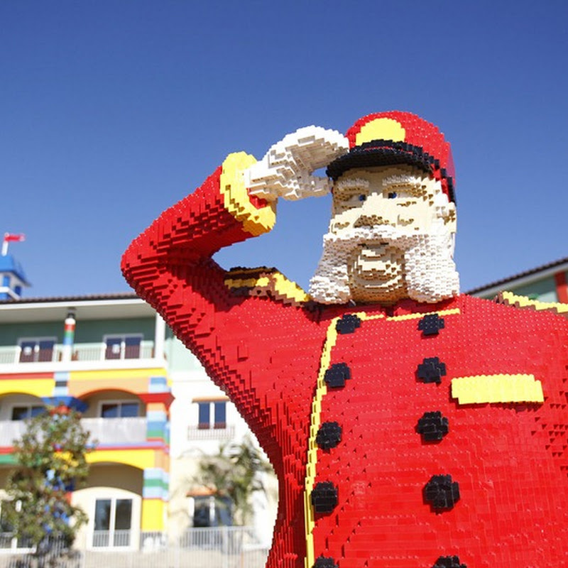 Lego Themed Hotel in California
