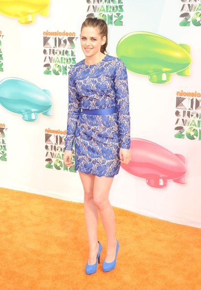 Kristen Stewart attends Nickelodeon's 25th Annual Kids' Choice Awards