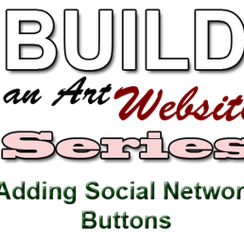 Adding Social Network Buttons to your Artist Website