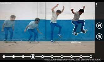 Edit your Action Shots in Nokia Smart Cam