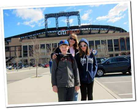 mets opening day 2012 uncool family
