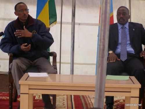 RDC : Kabila rencontre Kagame à Kampala