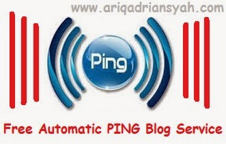Daftar situs untuk layanan PING blog gratis agar cepat terindex