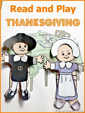 Favorite Thanksgiving Books for preschool age and an open-ended Thanksgiving play