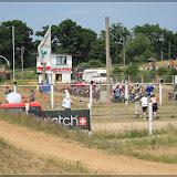 Startaufstellung zum Seitenwagenrennen