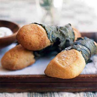 Prussian Leaf-Wrapped Breadsticks
