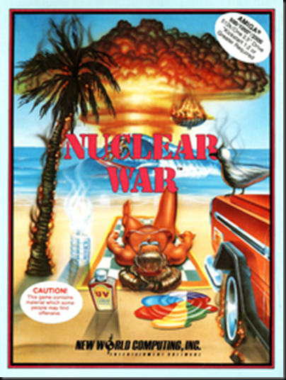 Nuclear Wars Amiga cover