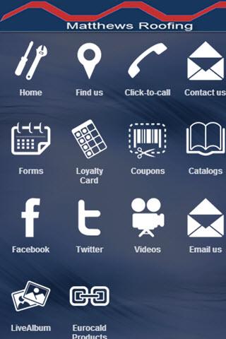 【免費商業App】Matthews Roofing-APP點子