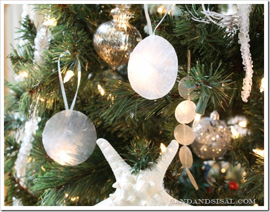 DIY Capiz Ornaments
