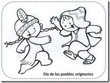 Colorear Dia De Los Pueblos Originarios Colorear Tus Dibujos