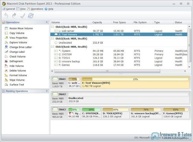 Offre promotionnelle : Macrorit Disk Partition Expert Professional Edition gratuit !