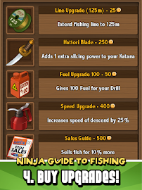 Ninja Fishing Screenshot 19