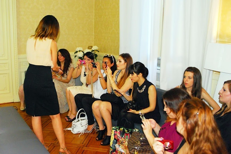 lancome alla scoperta dei suoi segreti, evento bloggers, fashion blogger, lancome, outfit, zagufashion