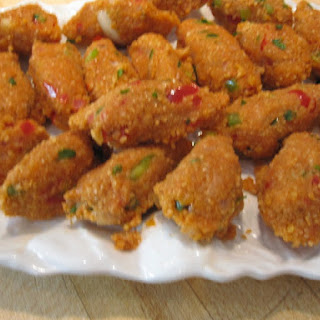 Kibbe Neye....Vegetarian Bulgur Torpedos.