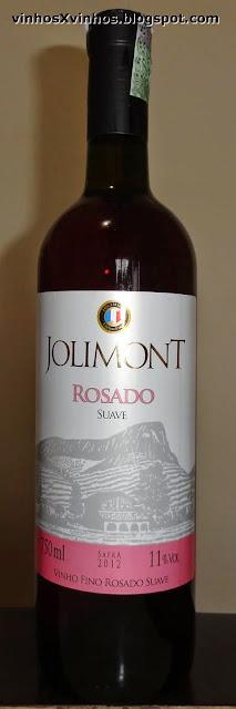 Vinho rosado suave