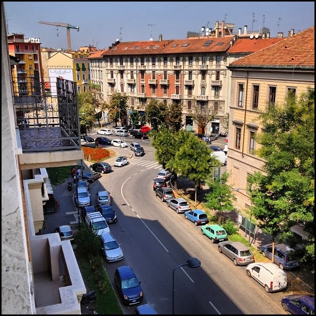 View from Hotel Palladio, Milan