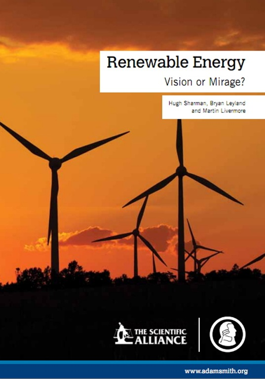Adam Smith Institute Renewable Energy Cover Picture