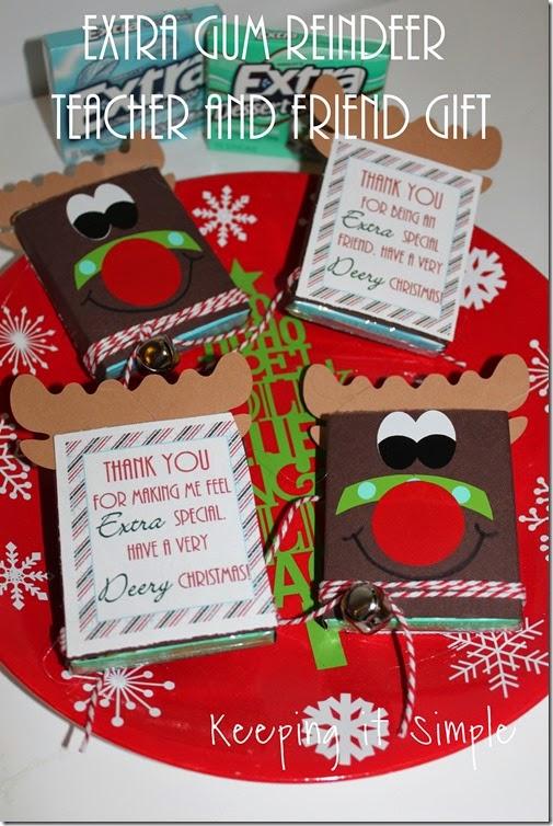 #ad Extra-gum-reindeer-gift #ExtraGumMoments