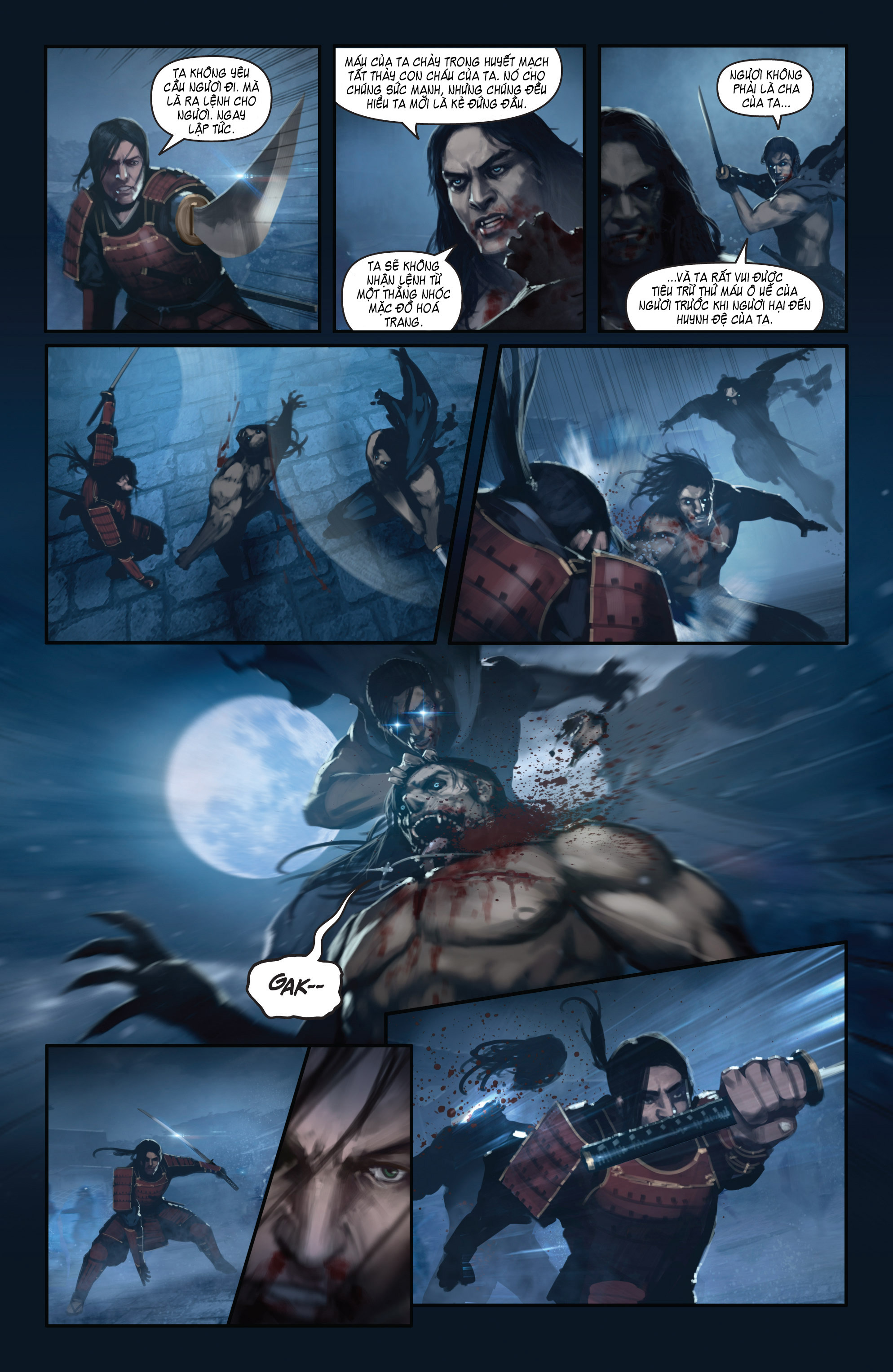 BUSHIDO - THE WAY OF THE WARRIOR chapter 5 - end trang 20