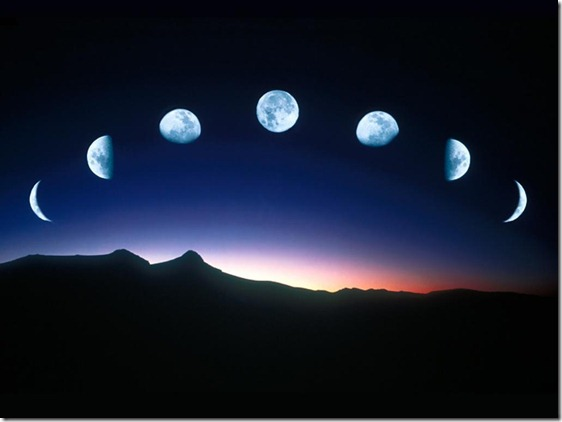 Moon-in-phases
