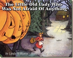the little old lady who was afraid of nothing