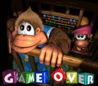 Donkey Kong Country 3 - Game Over Screen