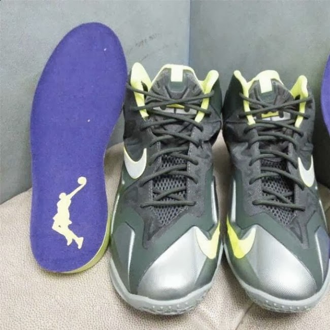 First Look at Nike LeBron XI 8220Dunkman8221 in Kids8217 Version ... e1a15a2c16