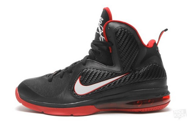 low priced 7a8cc ad30b ... Releasing Now Nike LeBron 9 8220Black 038 Red8221 Miami Heat ...