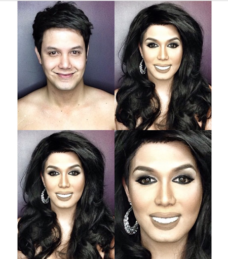 PHOTOS: Dad Transforms Himself Into Celebrities Using Makeup And Wigs 19