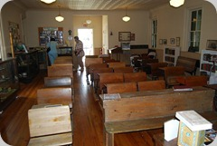 A look toward the rear of the class room.