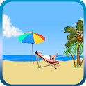 Romantic Beach Go SMS theme icon
