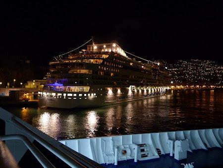 Port Funchal: vas de croaziera Madeira