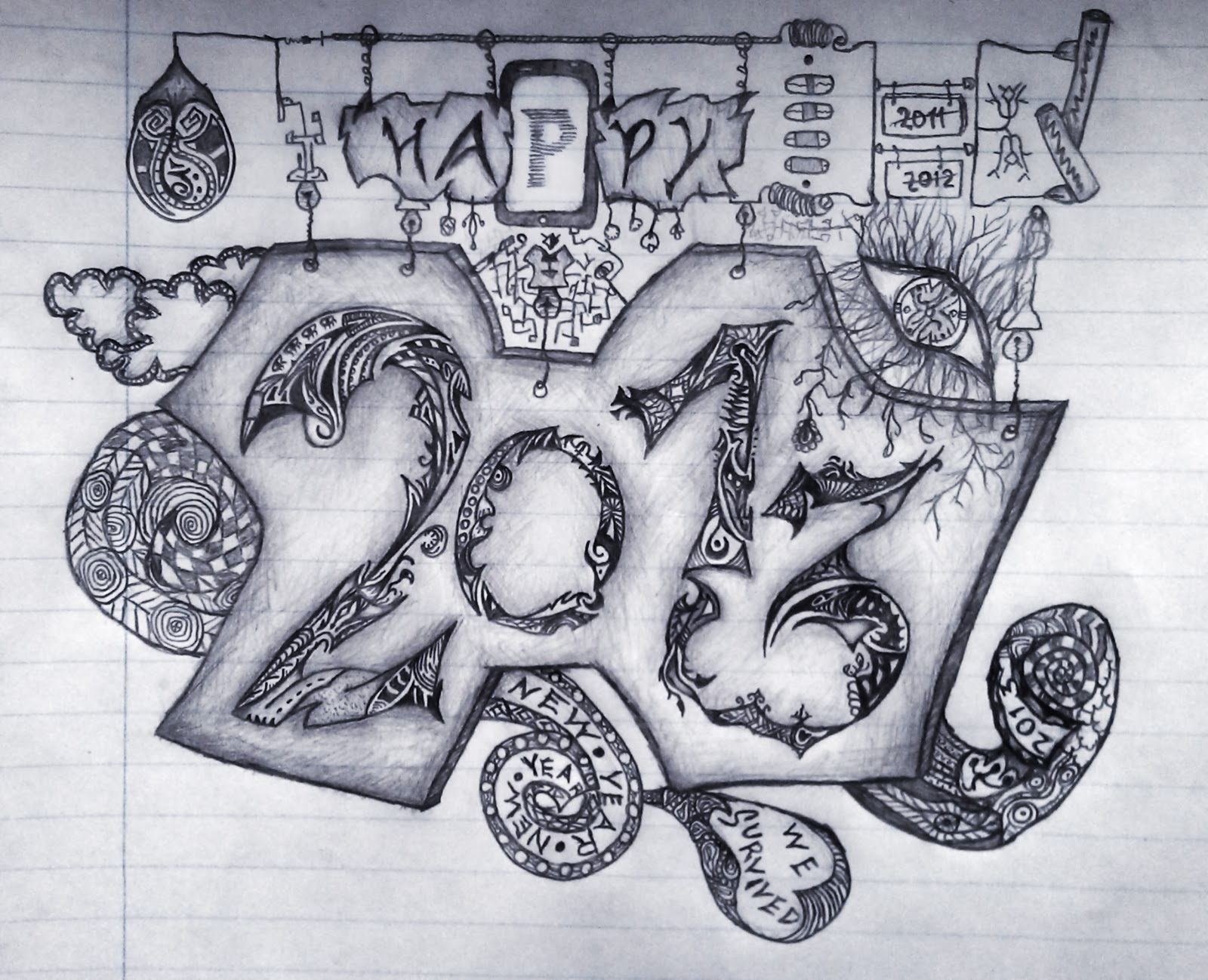 Happy New Year 2013 Greetings Wishes | H4xOrin\' T3h WOrLd