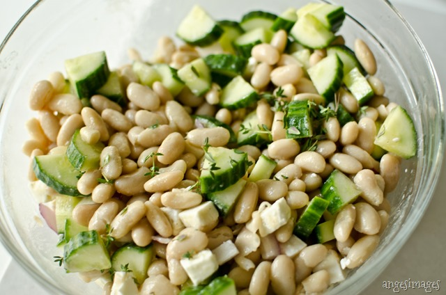 White Bean Salad with Thyme | personallyandrea.com
