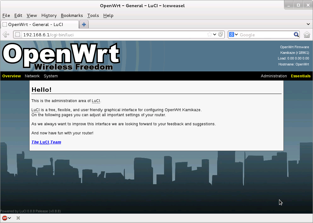Openwrt on a Pc : 7 Steps