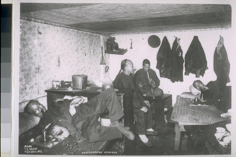 Underground opium den. [T.E. Hecht.], The Bancroft Library. University of California, Berkeley..jpg