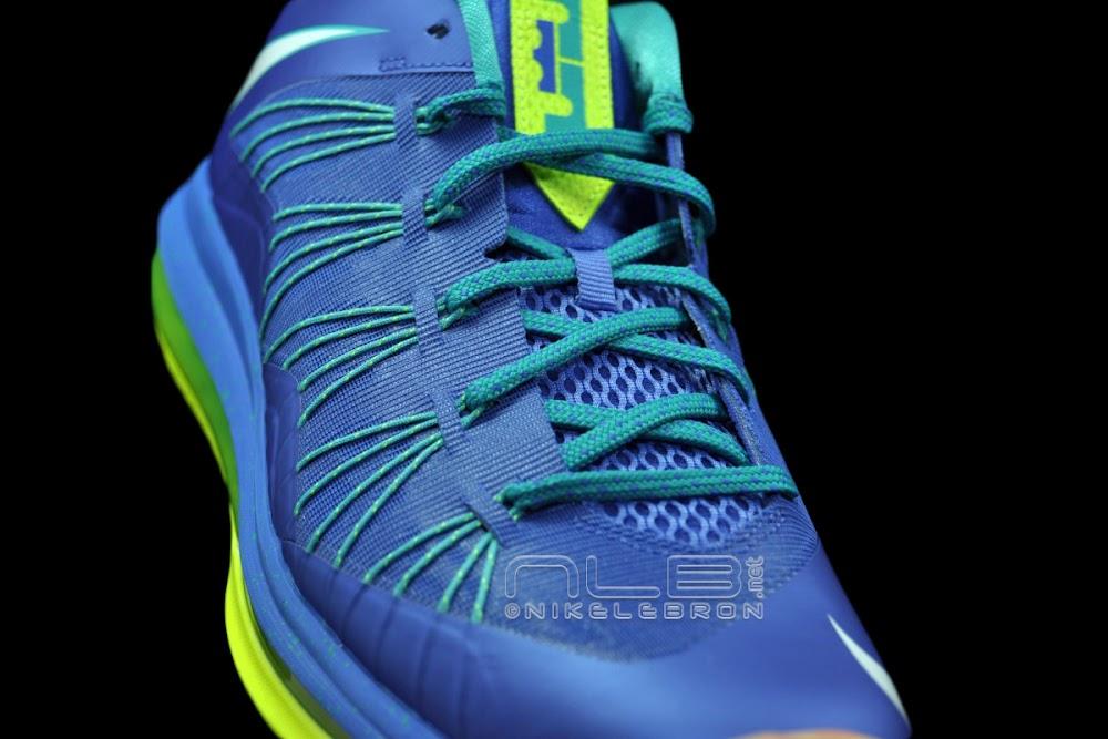 463fb046883b The Showcase Nike Air Max LeBron X Low 8220Treasure Blue8221 ...