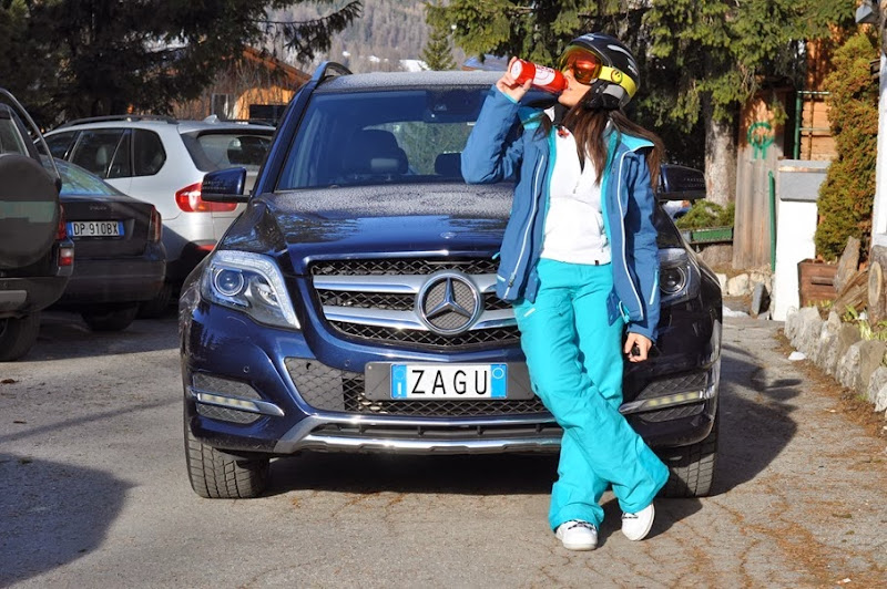 outfit, cortina d'ampezzo, mercedes-benz, , total look the north face, italian fashion bloggers, fashion bloggers, street style, zagufashion, valentina coco, i migliori fashion blogger italiani