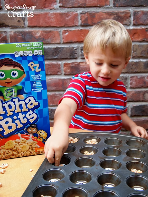 alpha bits cereal learning game #ad