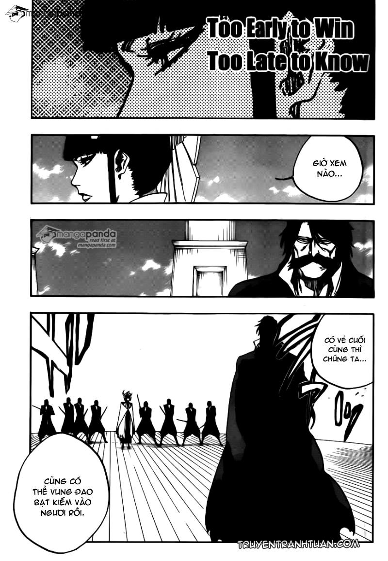 Bleach chapter 599 trang 4