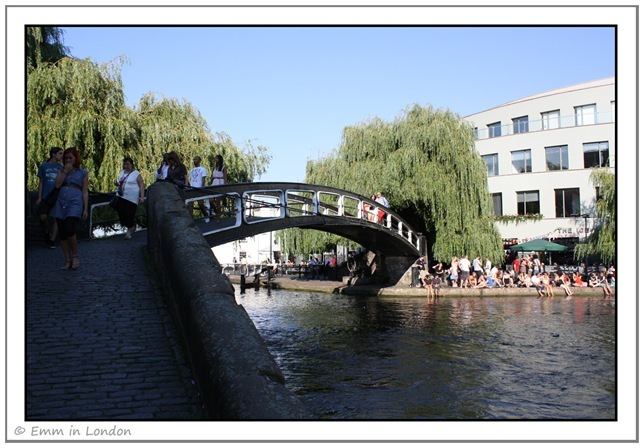 The Bridge Over Camden Lock