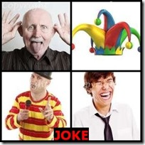 JOKE- 4 Pics 1 Word Answers 3 Letters