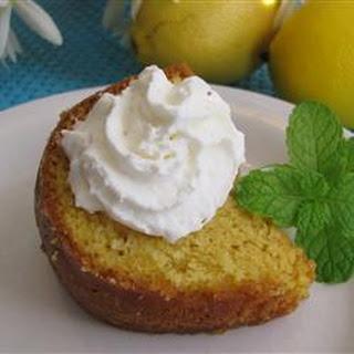 Lemon Poke Cake I
