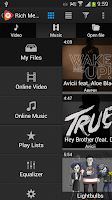 Screenshot of Rich Media Player Chromecast
