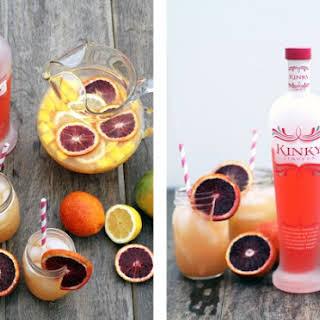 KINKY Mango and Blood Orange Sparkling Sangria.